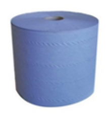 Протирочная бумага голубая